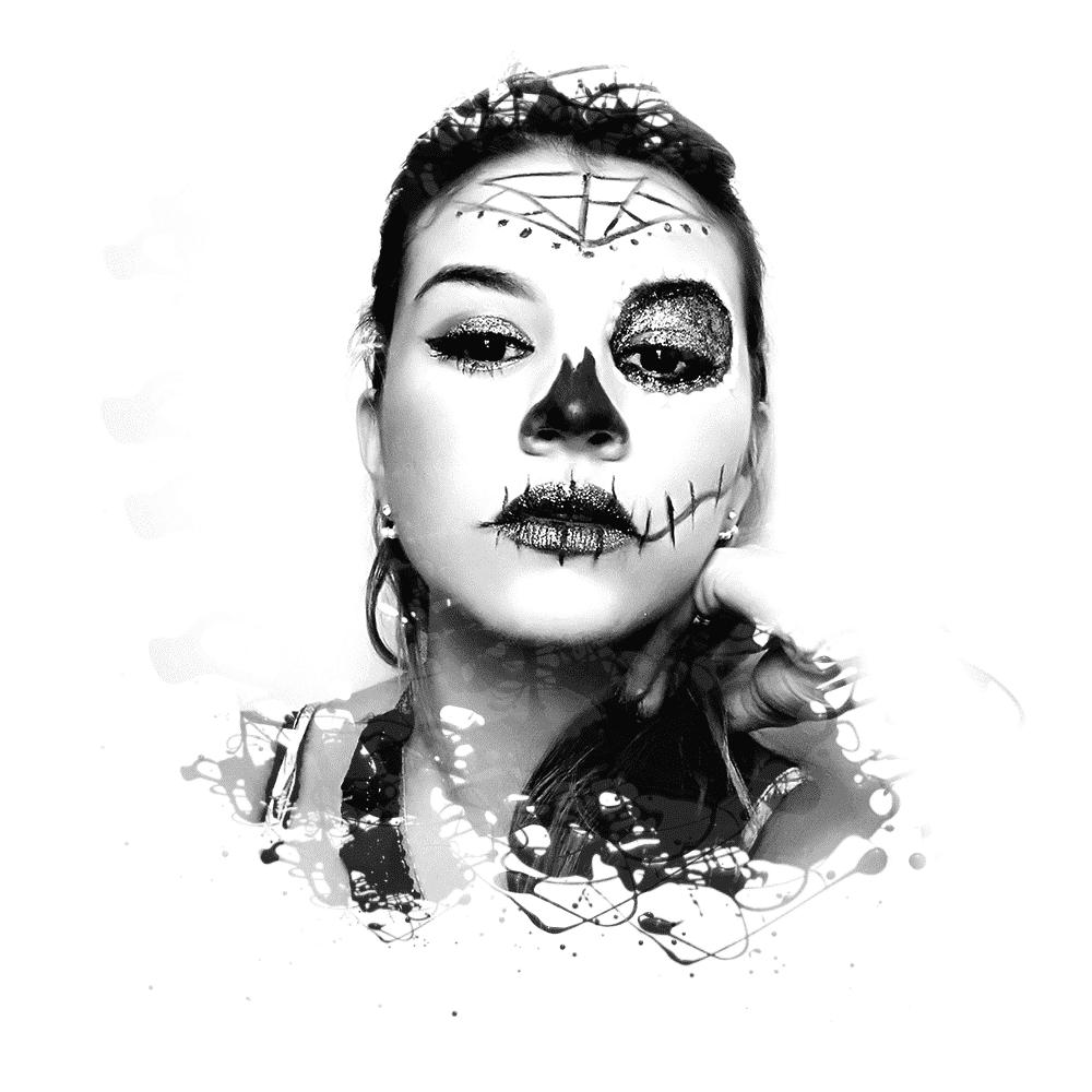 Maquillaje artistico de Jessica Freites
