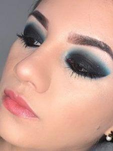 Smokey Eyes Tonos Azules
