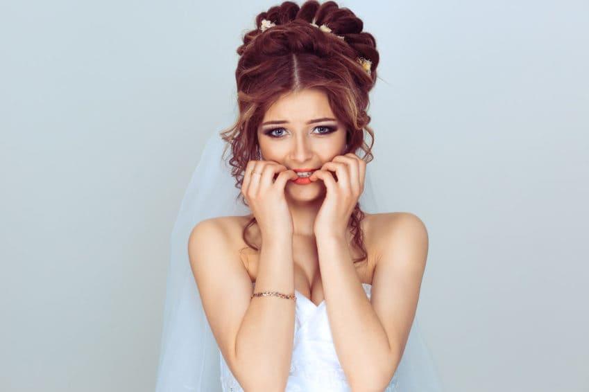 tips de maquillaje para novia estresada