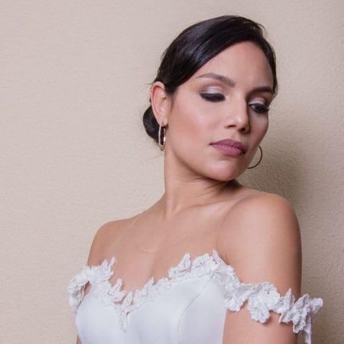 maquilladora de boda y novia a domicilio