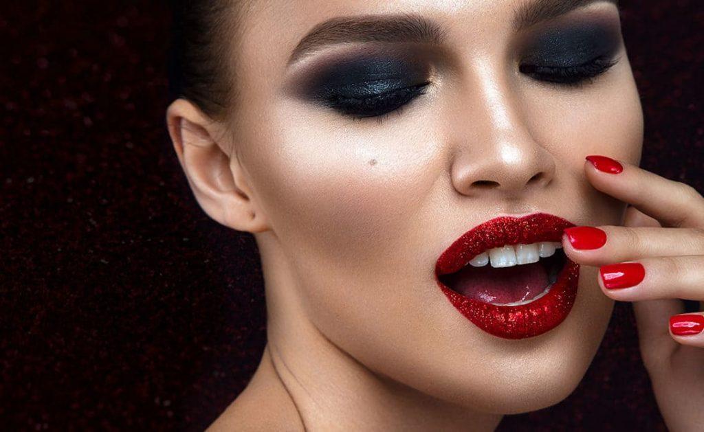 maquillaje boda noche