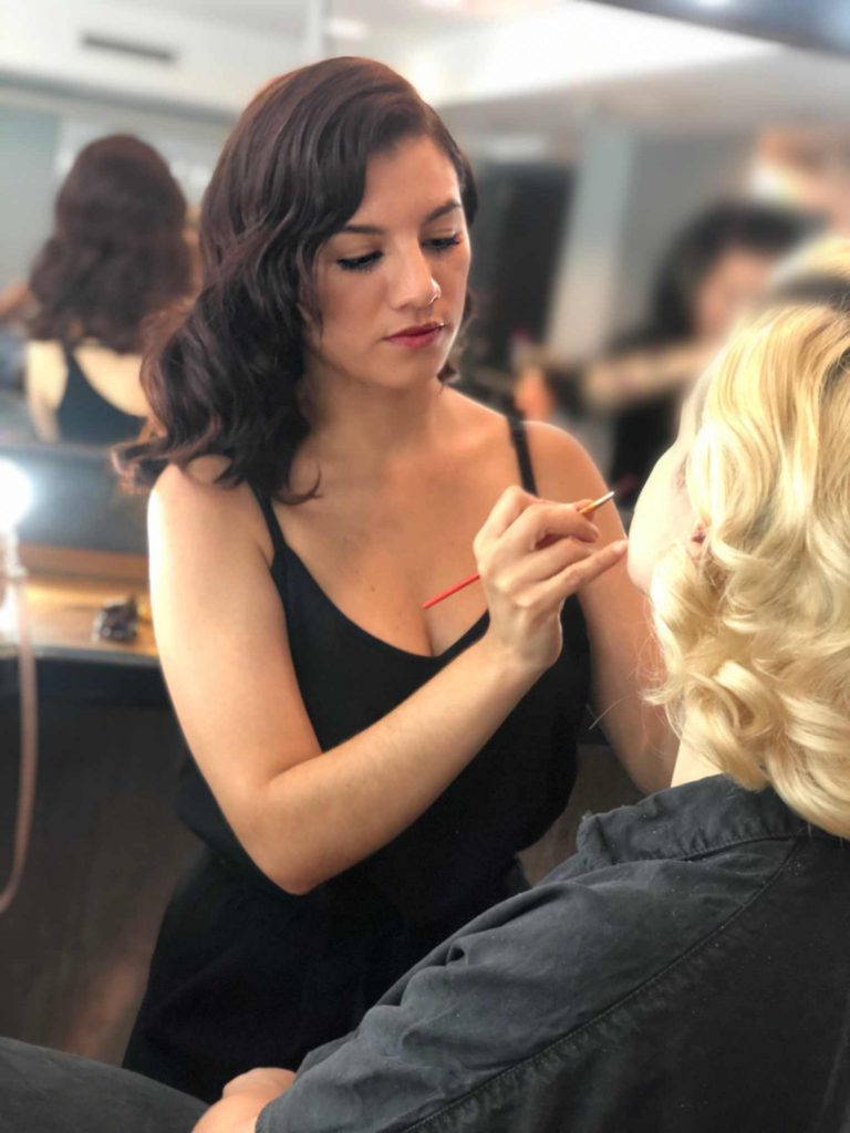 maquilladora en el retiro