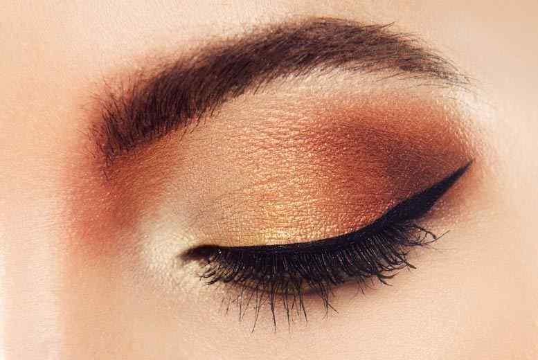 Maquillaje ojos marrones paso a paso