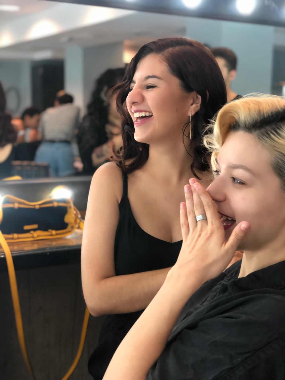 maquilladora en Goya