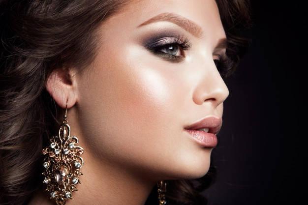 Maquillaje social de noche