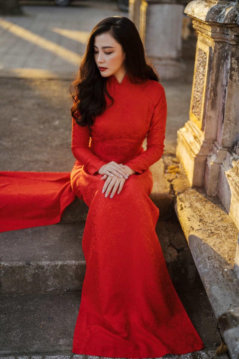 Maquillaje boda vestido rojo
