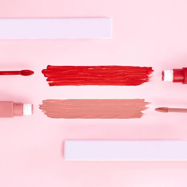 tonalidades para maquillaje de labios finos