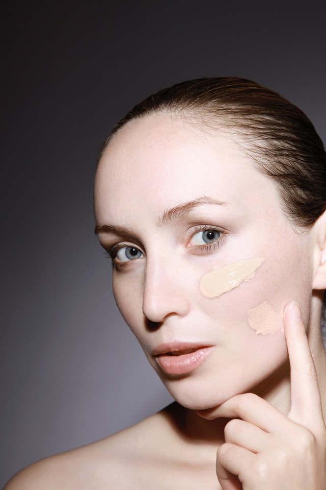 preparación de la piel para maquillaje