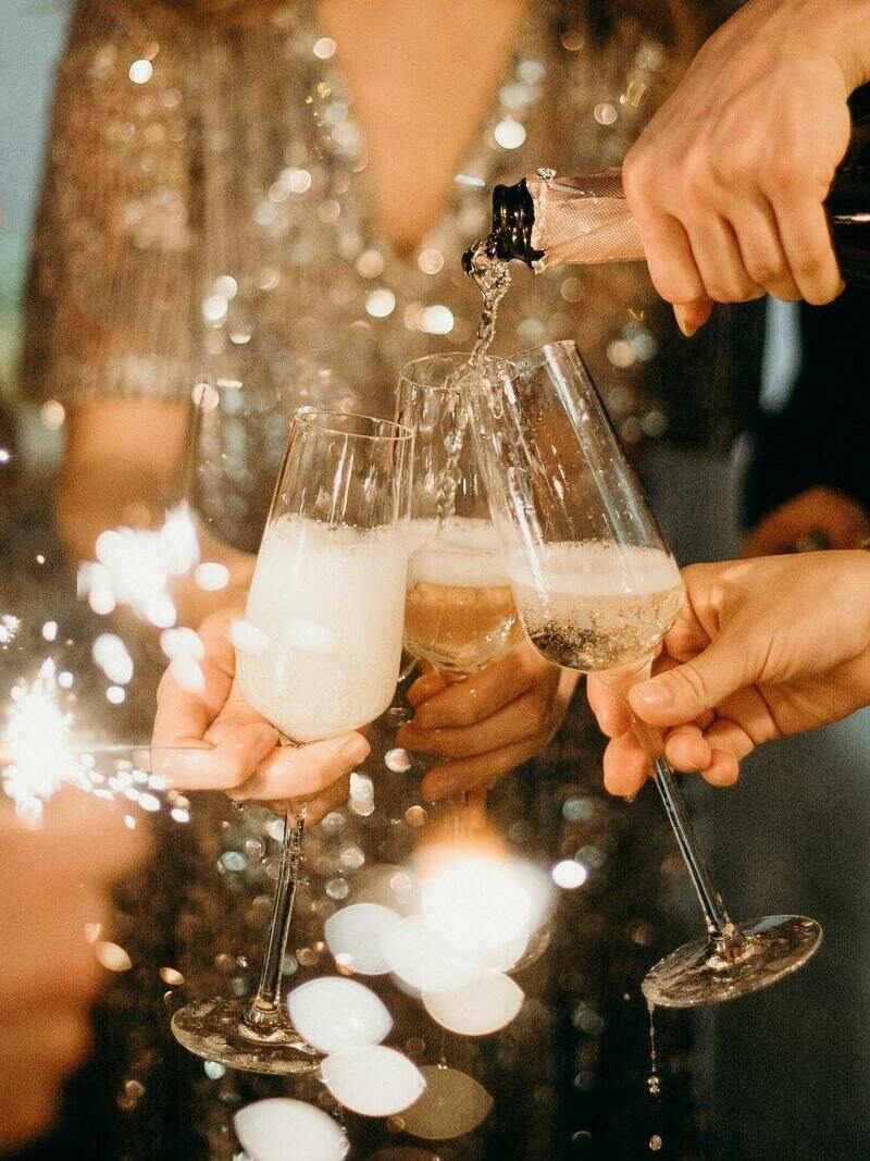 celebración en despedida de soltera