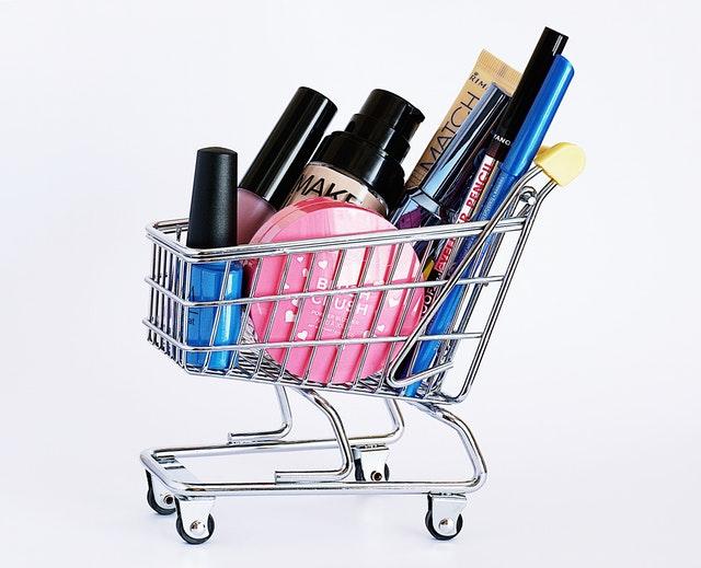 Maquillaje recién comprado
